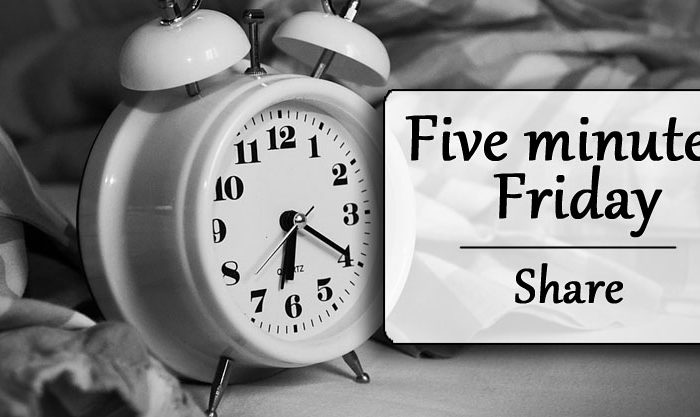 Five minutes Friday: Share